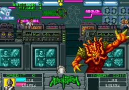 Alien Storm (ARC)  © Sega 1990   5/15