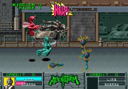 Alien Storm (ARC)  © Sega 1990   6/15