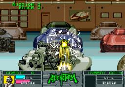 Alien Storm (ARC)  © Sega 1990   7/15