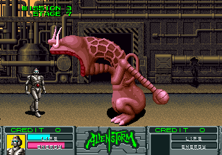 Alien Storm (ARC)  © Sega 1990   8/15