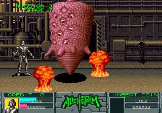 Alien Storm (ARC)  © Sega 1990   9/15