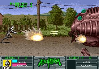 Alien Storm (ARC)  © Sega 1990   11/15