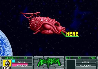 Alien Storm (ARC)  © Sega 1990   12/15