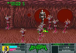 Alien Storm (ARC)  © Sega 1990   13/15