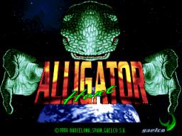 Alligator Hunt (ARC)  © Gaelco 1994   1/3