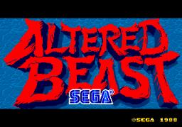 Altered Beast (ARC)  © Sega 1989   1/6