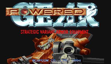 Armored Warriors (ARC)  © Capcom 1994   5/8