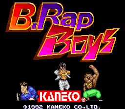 B. Rap Boys (ARC)  © Kaneko 1992   1/4