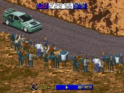 Backfire! (ARC)  © Data East 1995   3/3