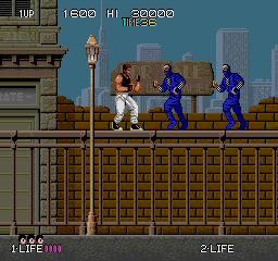 Bad Dudes Vs. Dragon Ninja (ARC)   © Data East 1988    2/5