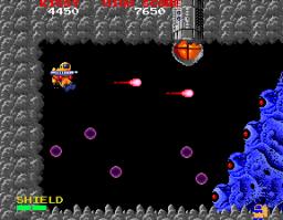 Baraduke (ARC)  © Namco 1985   3/4
