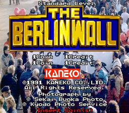 The Berlin Wall (ARC)  © Kaneko 1991   1/4