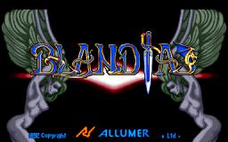 Blandia (ARC)  © Allumer 1992   1/3