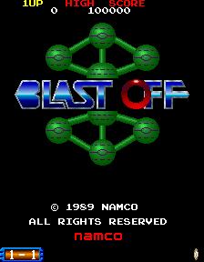 Blast Off (ARC)  © Namco 1991   1/3