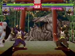 Blood Warrior (ARC)  © Kaneko 1994   2/5