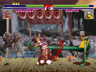 Blood Warrior (ARC)  © Kaneko 1994   4/5