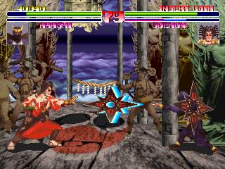 Blood Warrior (ARC)  © Kaneko 1994   5/5