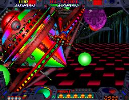 Burning Force (ARC)  © Namco 1989   2/3