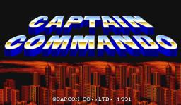 Captain Commando (ARC)  © Capcom 1991   1/7