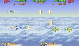 Carrier Air Wing (ARC)  © Capcom 1990   2/9