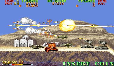 Carrier Air Wing (ARC)  © Capcom 1990   5/9
