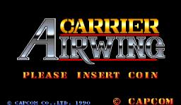 Carrier Air Wing (ARC)  © Capcom 1990   1/9