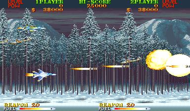 Carrier Air Wing (ARC)  © Capcom 1990   6/9