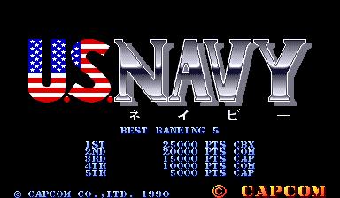 Carrier Air Wing (ARC)  © Capcom 1990   4/9