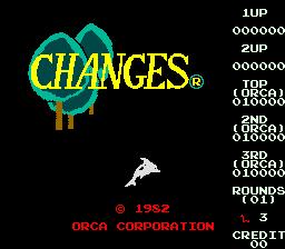 Changes (ARC)  © Orca 1982   1/3