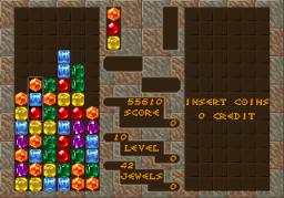 Columns (ARC)  © Sega 1990   2/3