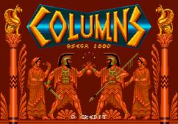 Columns (ARC)  © Sega 1990   1/3