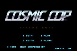 Cosmic Cop (ARC)  © Irem 1991   1/4