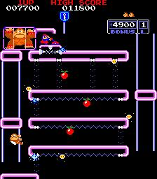 Donkey Kong Jr. (ARC)  © Nintendo 1983   3/3