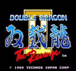 Double Dragon II: The Revenge (ARC)  © Technos 1988   1/3