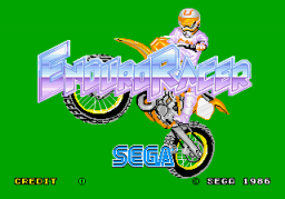 Enduro Racer (ARC)  © Sega 1985   1/4