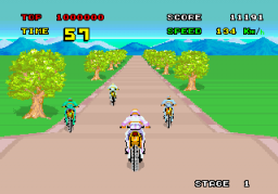 Enduro Racer (ARC)  © Sega 1985   3/4