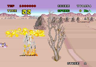 Enduro Racer (ARC)  © Sega 1985   4/4