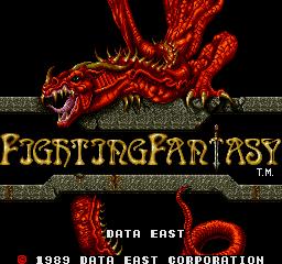 Fighting Fantasy (ARC)  © Data East 1989   1/4