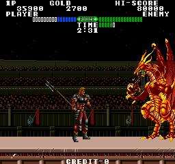 Fighting Fantasy (ARC)  © Data East 1989   2/4