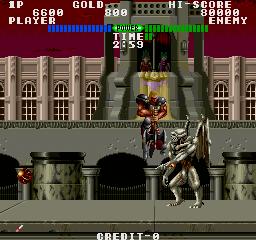 Fighting Fantasy (ARC)  © Data East 1989   3/4
