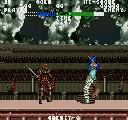 Fighting Fantasy (ARC)  © Data East 1989   4/4