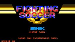 Fighting Soccer (ARC)  © SNK 1988   1/6