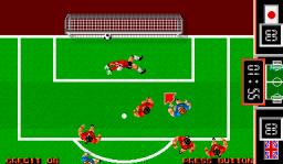 Fighting Soccer (ARC)  © SNK 1988   3/6