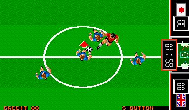 Fighting Soccer (ARC)  © SNK 1988   5/6