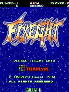Fixeight (ARC)  © Taito 1992   1/5