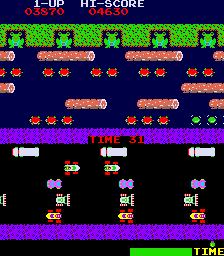 Frogger  © Sega 1981  (ARC)   4/4