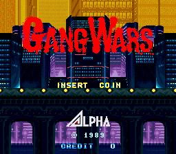 Gang Wars (ARC)  © SNK 1989   1/4