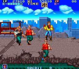 Gang Wars (ARC)  © SNK 1989   3/4