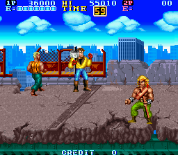 Gang Wars (ARC)  © SNK 1989   4/4