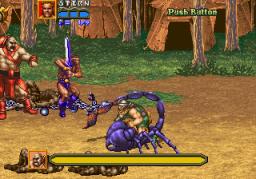 Golden Axe: Revenge Of Death Adder (ARC)  © Sega 1991   2/7